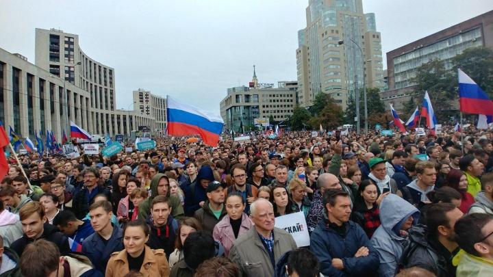 Спираль раздражения: колонка журналиста НГС о протестах в Москве