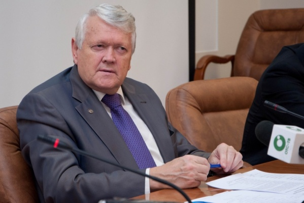 Бывший председатель СО РАН Александр Асеев