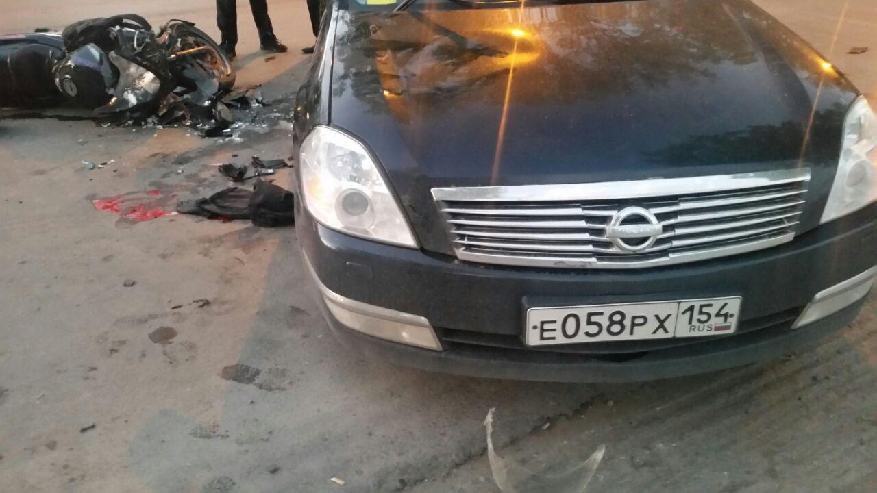 В аварии погиб молодой мотоциклист