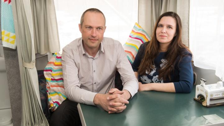 Екатеринбуржцы открыли первый на Урале бизнес с «домом на колёсах»