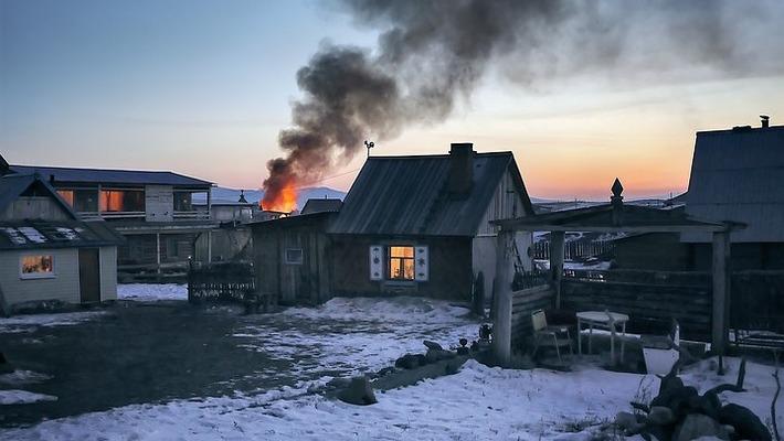 Сигнализация спасла хозяев дома от пожара