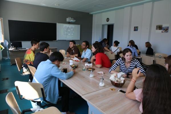 В этом году в Летней школе русский учат более 30 студентов