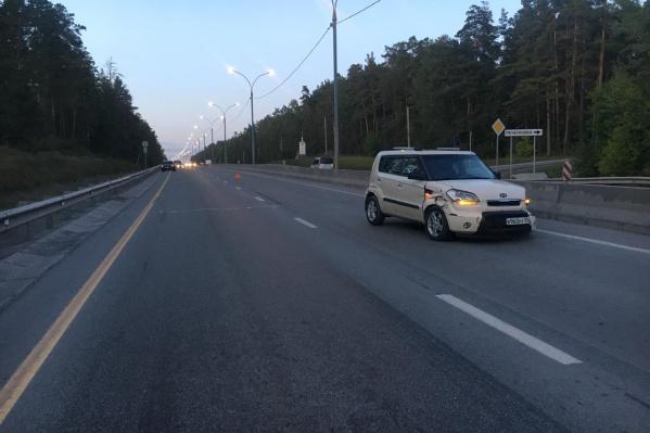 Авария случилась в 33 километрах от Новосибирска