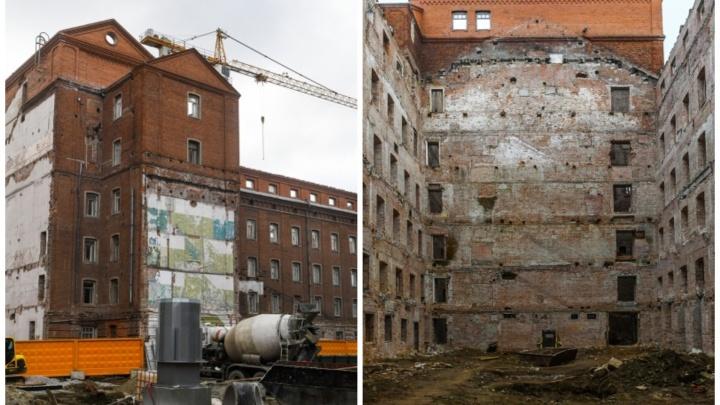 Из мельницы в элитное жилье: что сейчас скрывается за фасадом старинного здания у Макаровского моста