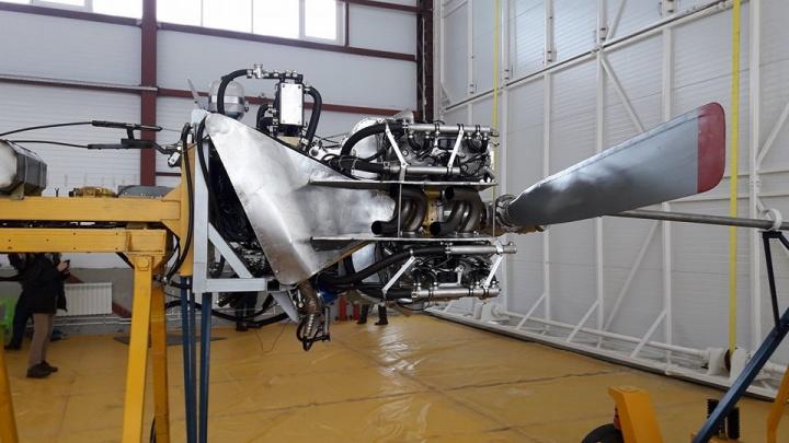 В Новосибирске собрали первый в мире двигатель из алюминия