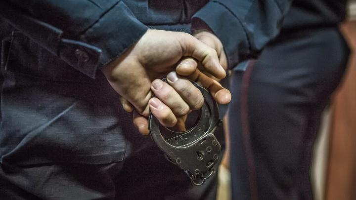 Новосибирца отдают под суд за нападение на сотрудника Росгвардии с ножом в костыле
