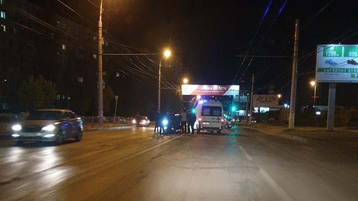 В Волгограде с интервалом в несколько минут разбились два мотоциклиста