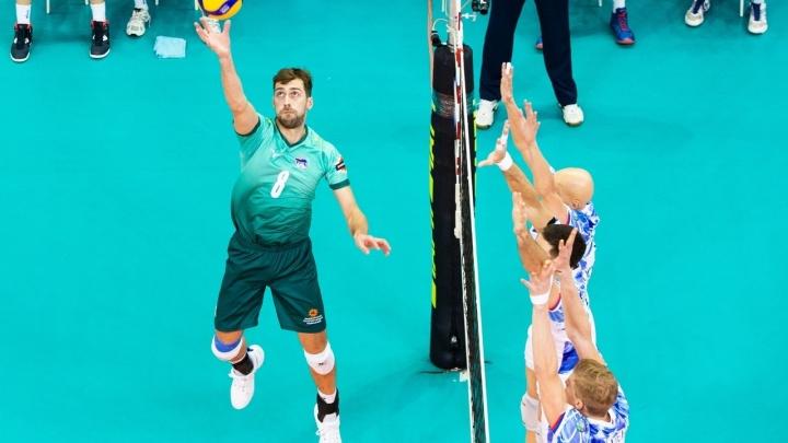 Волейбольный «Урал» проведёт два товарищеских матча перед продолжением сезона