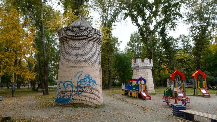 Парк на перекрестке Малышева и Бажова полностью переделают