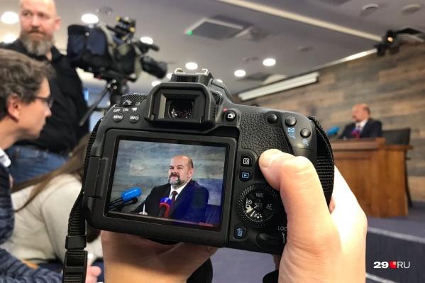 Игорь Орлов рассказал, сможет ли занять «22-ю кнопку», предназначенную для муниципального канала, независимое ТВ<br>
