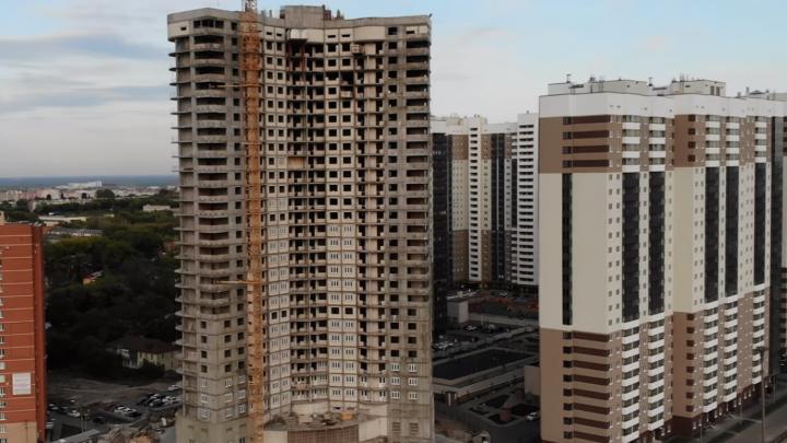В высотке «Трансгруза» у автовокзала незаконно увеличили количество этажей