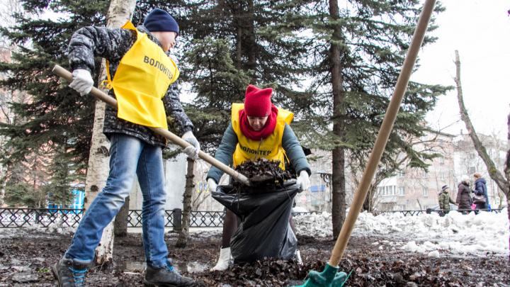 «Объединить усилия по уборке мусора»: архангелогородцев приглашают на общегородской субботник