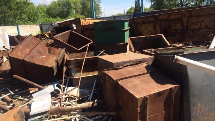Омская полиция поймала похитителя мусорных баков