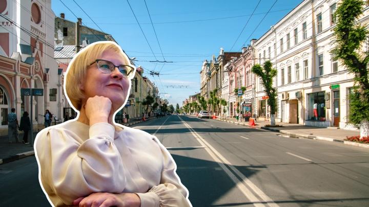 На своих двоих: губдума приняла во втором чтении «закон Лапушкиной» о пешеходной улице Куйбышева