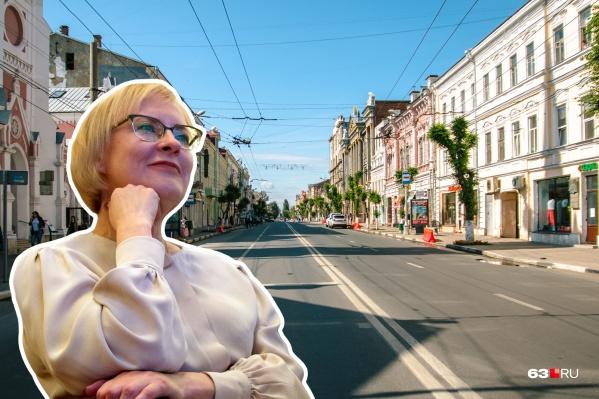 Мэр Самары предложила на время очистить историческую часть города от машин