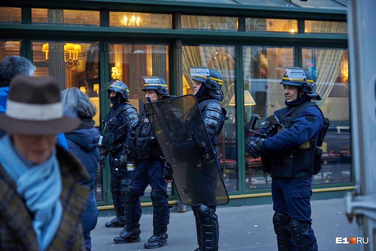 Охрана порядка во время протестных акций