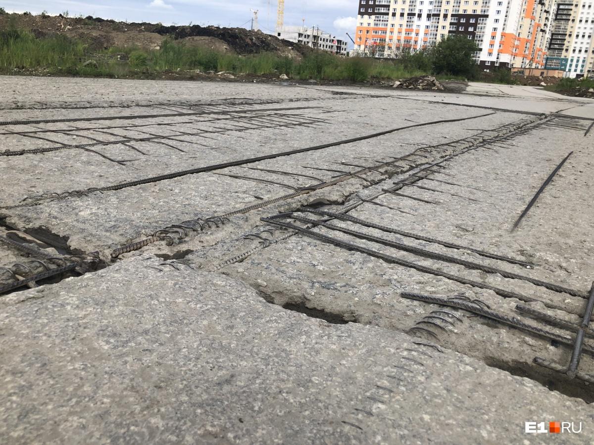 В последние годы дорога выглядела вот так