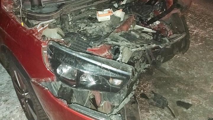 Разбросало по дороге: в Самарской области столкнулись 6 автомобилей