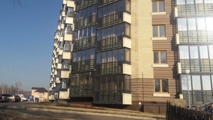 Сдается первый дом нового микрорайона на обрыве Енисея в Академгородке