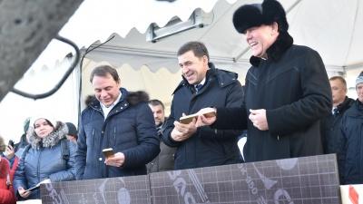 При закладке фундамента огромного автовокзала Куйвашев и инвесторы бросили в котлован золотые слитки