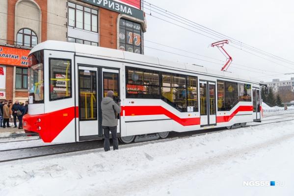 Новый трамвай проедет по всем маршрутам города