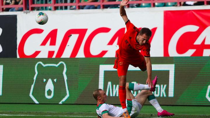 Полный провал в Москве: «Урал» с неприличным счётом проиграл «Локомотиву»