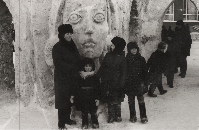 Снежные фигуры 1988 года