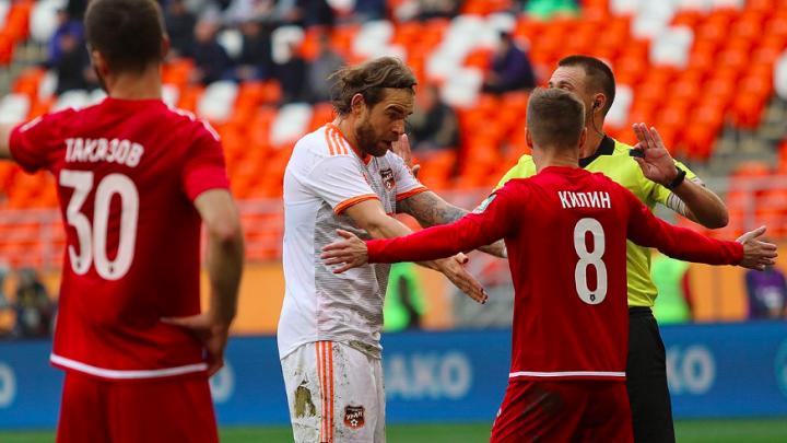 Самый скучный матч: футболисты «Урала» с большим трудом обыграли в гостях «Тамбов»