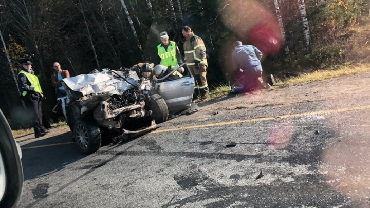 В ДТП на трассе Березники — Пермь погиб молодой мужчина и пострадал ребенок