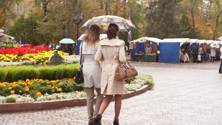 Одевайтесь потеплее: в Новосибирск пришла прохладная погода с дождями