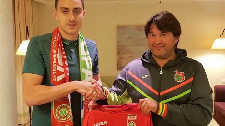 «Уфа» купила игрока из Румынии