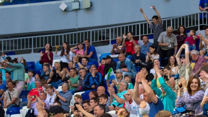 Болельщиков «Крыльев Советов» просят не курить на стадионе «Самара Арена»