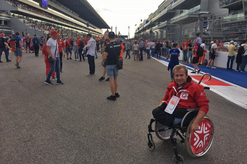 Александр Иванов всю жизнь мечтал посмотреть гонки своими глазами