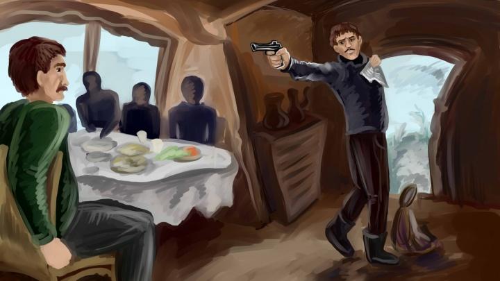 С партбилетом и револьвером: похождения в степи великого комбинатора из Заплавного