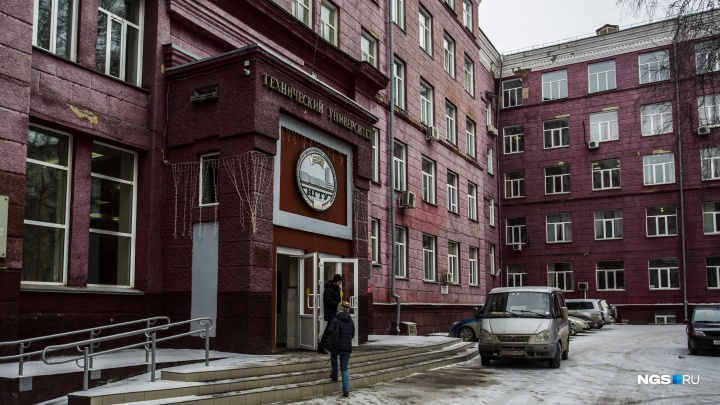 На территории новосибирского вуза погиб человек
