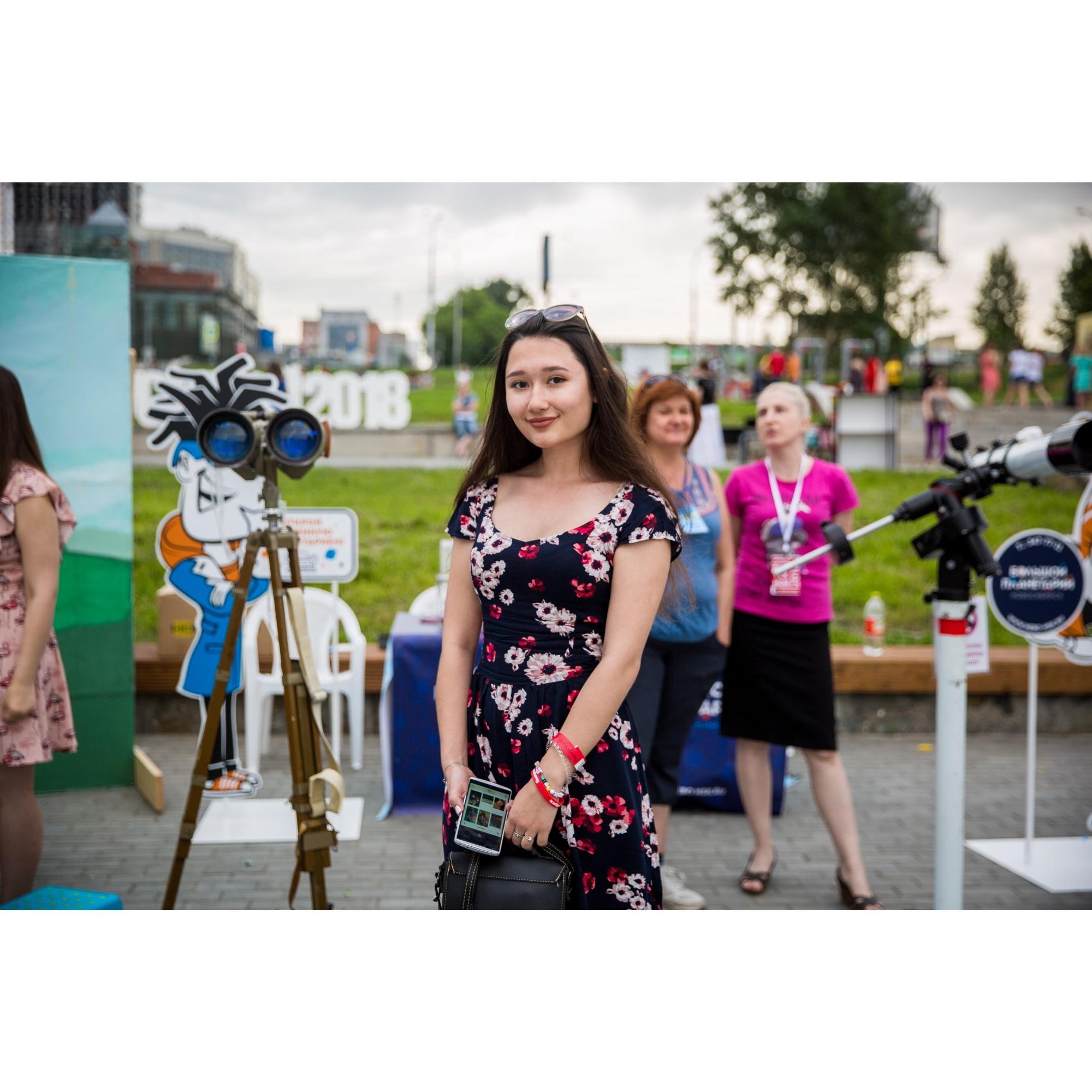 Руслана планирует учиться в Омске