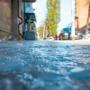 Город под слоем льда: публикуем фотографии «очищенных» от снега ростовских улиц