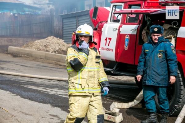 Пожар произошел после полуночи в одном из домов Курагинского района