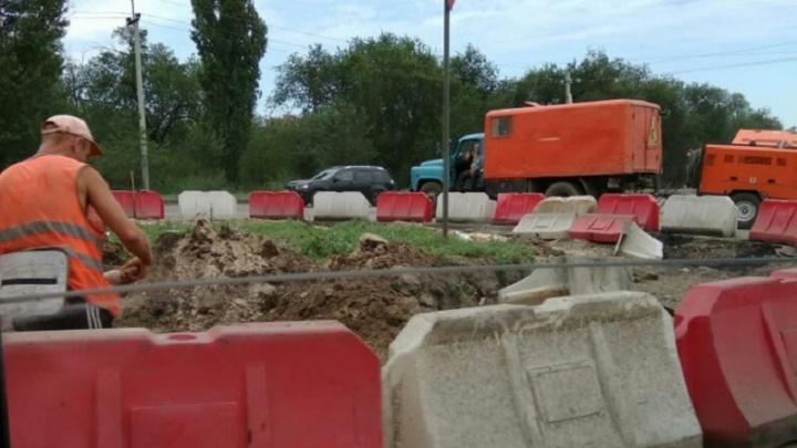 С перекрестка на юге Волгограда исчез гигантский глобус-ориентир