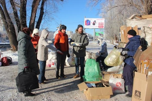 Жителей Самары приглашают сдать старую одежду, ртутные лампы, пластик и стекло