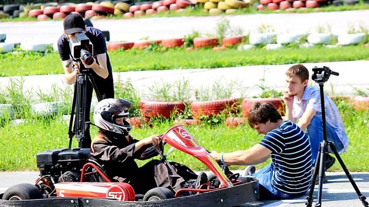 В Новосибирске начали снимать мистический фильм о гонщике