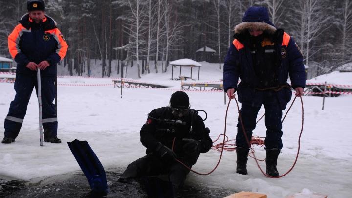 В Свердловской области из-за опасности провала под лед закрыли 13 купелей