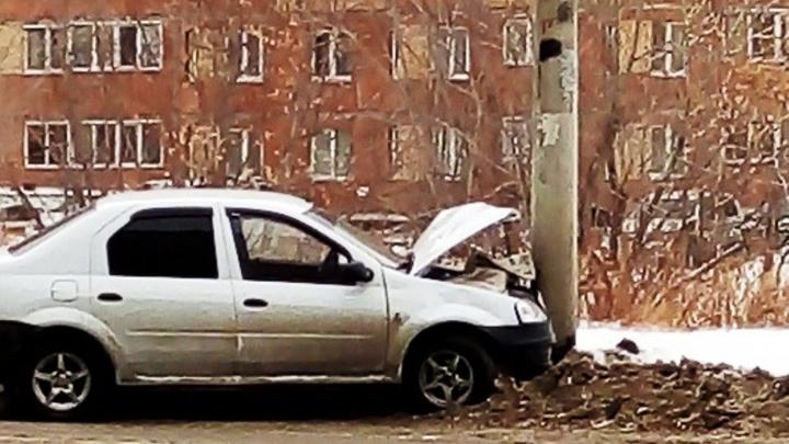 Появилось видео аварии на бульваре Архитекторов: девочка бежала прямо под машину