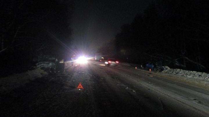 Машины разбросало в разные стороны: в серьёзном ДТП на трассе пострадали семь человек