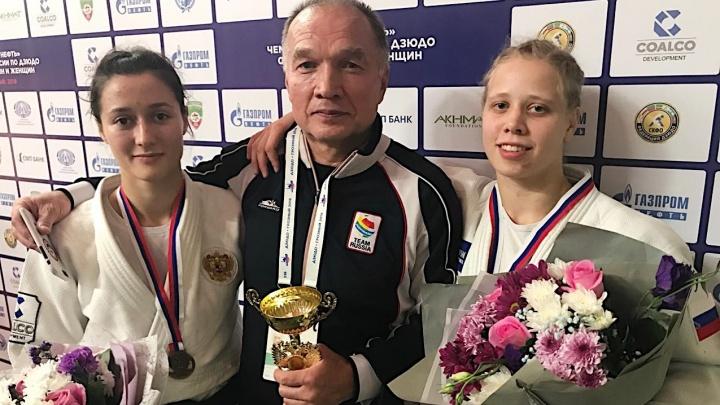 Дзюдоистки из Екатеринбурга завоевали на чемпионате России золото и бронзу