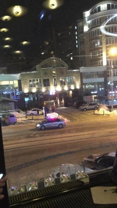 Улицу Радищева перекрыли