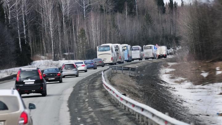 Дорожники перекроют движение на Пермском тракте из-за ремонта путепровода: схема