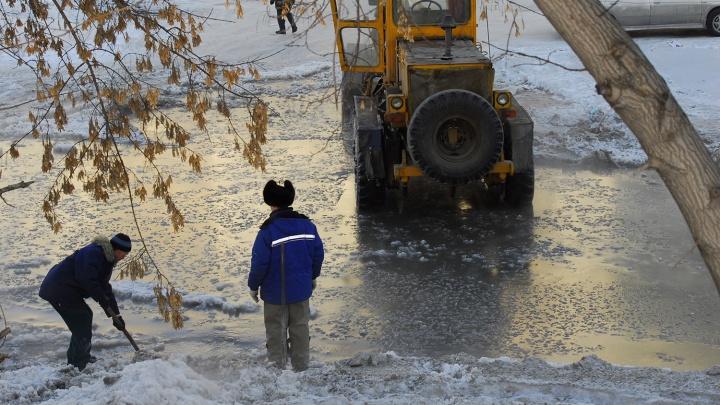 Два десятка домов на Калинина остались без воды из-за ошибки рабочих