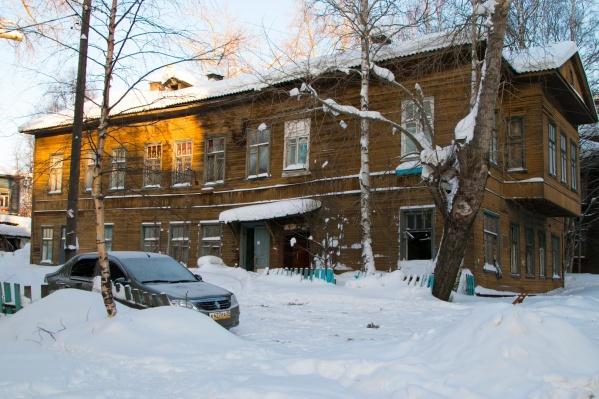 Дом №35 на Серафимовича построен в 1912 году