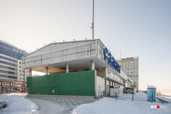 Пока самарцы продолжат пользоваться старым зданием речного вокзала